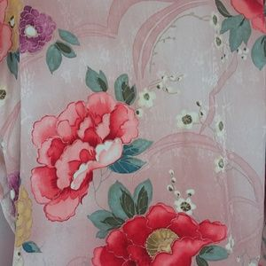 Chico's Tops - Chico's Design Silk Pink Floral Blouse Size 3